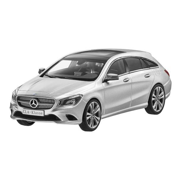 CLA, Shooting Brake, Polar Silver 1:43
