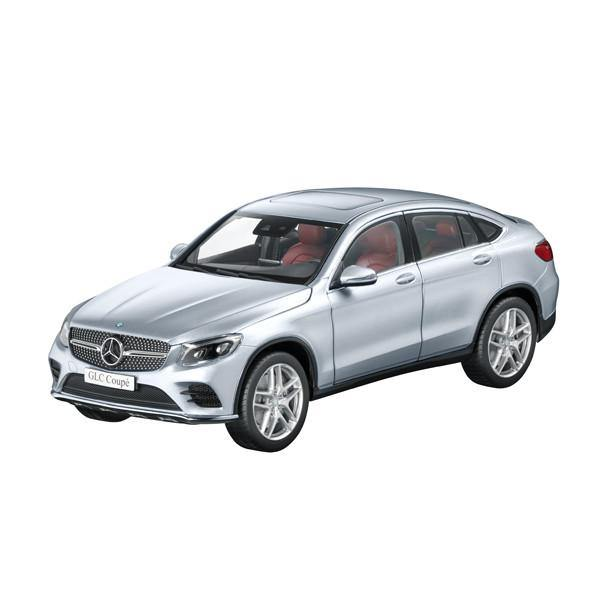 GLC Coupe, Diamond Silver, 1:18