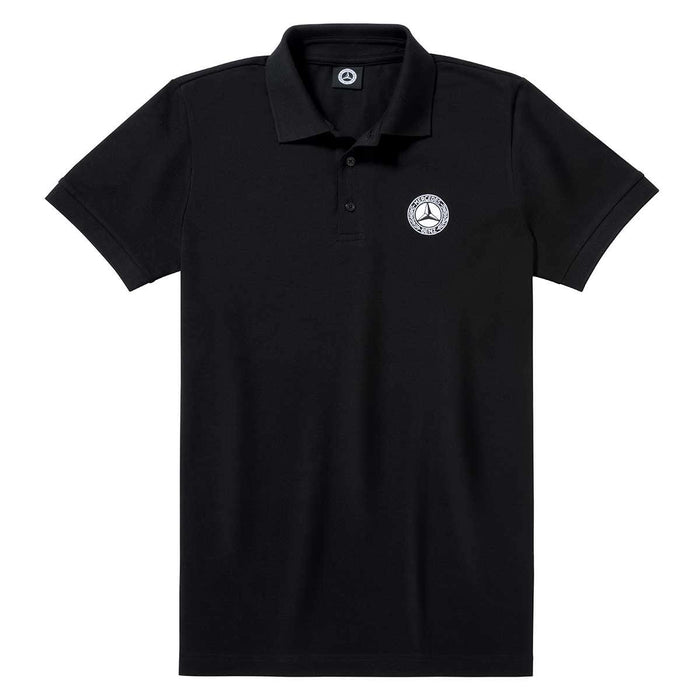 Men's Polo Shirt, Black, S
