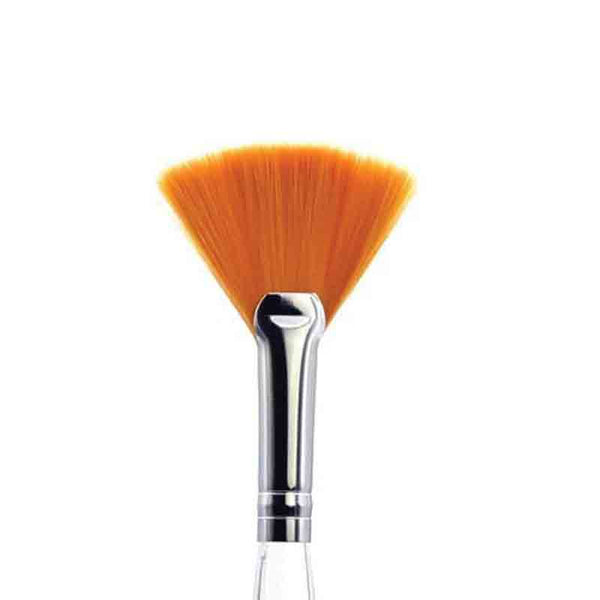 Large Taklon Treatment Fan Makeup Brush 1856SH