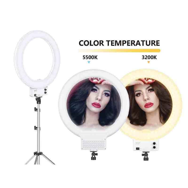 Neewer Dimmable Makeup Ring Light 18 Inches