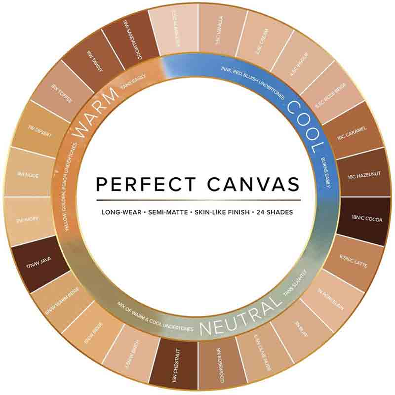 Perfect Canvas Hydra Lock Foundation - 8W Toffee
