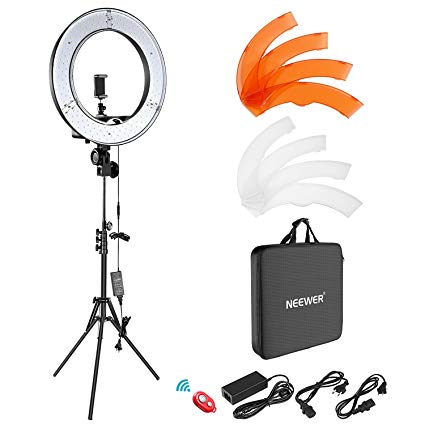 Neewer Makeup Ring Light 18 Inches With Filters