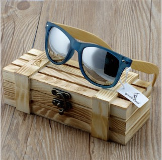 Transparent Wayfare Wooden Sunglasses
