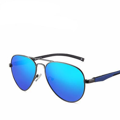 Classic Sunglasses With Reflective Coating Lens