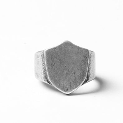 Vintage Style Shield Ring