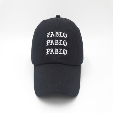 """Pablo"" Embroidered Design Cap - streetboyz"