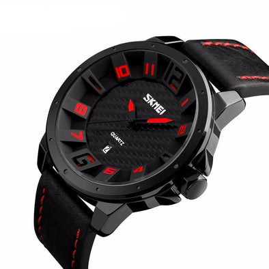 3D Display Leather Sport Watch - streetboyz