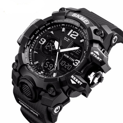 Dual Display Military Sports Watch - streetboyz