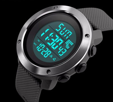 Dual Time Digital Watch - streetboyz