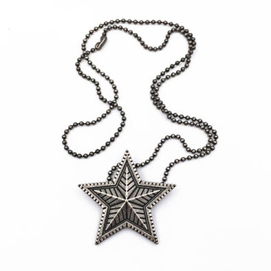 Vintage Style Star Pendant Necklace