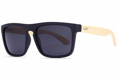 Square Bamboo Temple Sunglasses