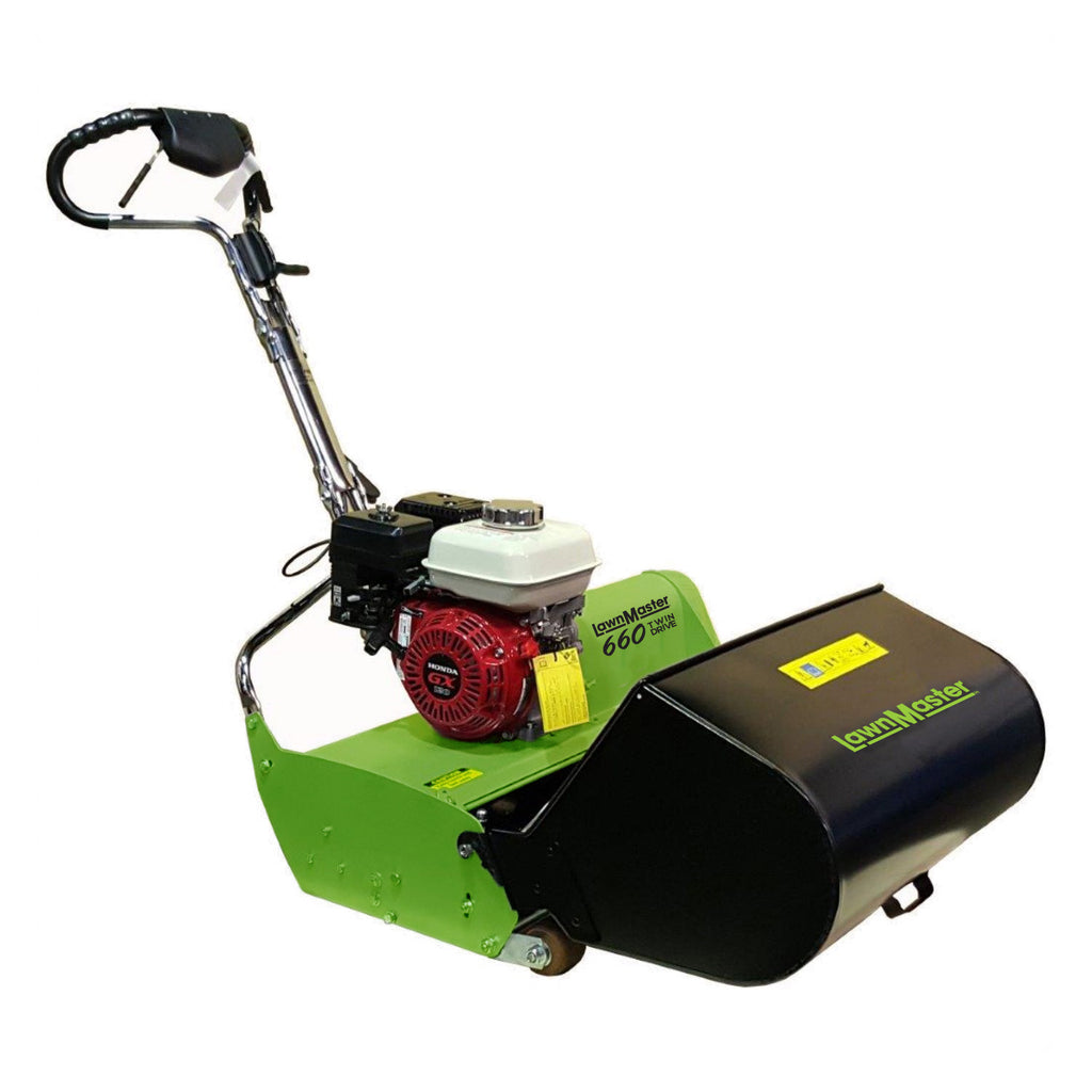 Lawnmaster 660 Twin Drive Reel Mower