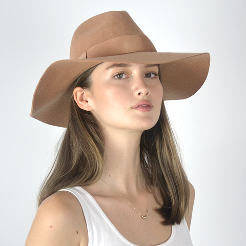 Floppy Fedora Wide Brim Felt Hat