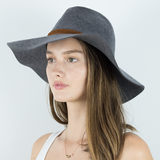 Ranch Wide Brim Soft Felt Hat