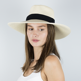 Panama Hat Wide Brim - Teardrop