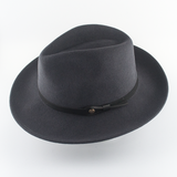 Memphis Felt Hat with Leather Band