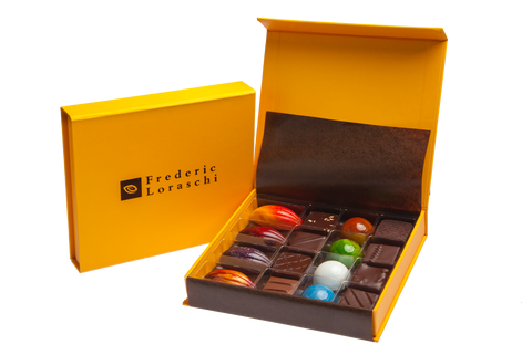 Signature chocolate gift box collection 16-piece