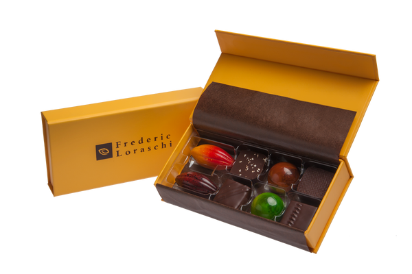 Signature chocolate gift box collection 8-piece