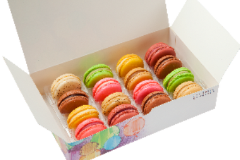 Macarons Gift Box 16-Piece