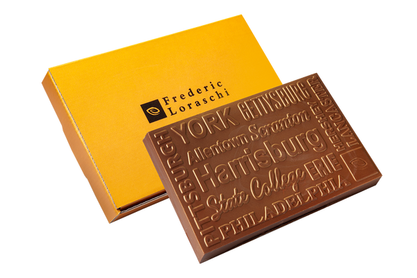 Signature Pennsylvania Cities Chocolate Gift Bar