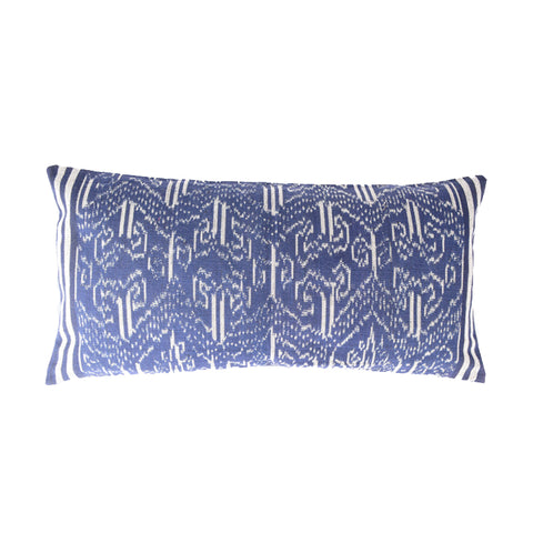 "Pua Kumbu Cushion Cover 11""x20"" - Design B"