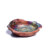 Whirl Bowl - Copper Raku