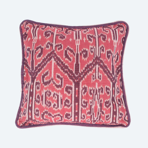 "Pua Kumbu Cushion Cover 16""x16"" - Design A"
