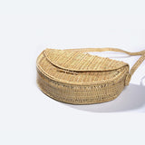 Bamboo hand basket bag
