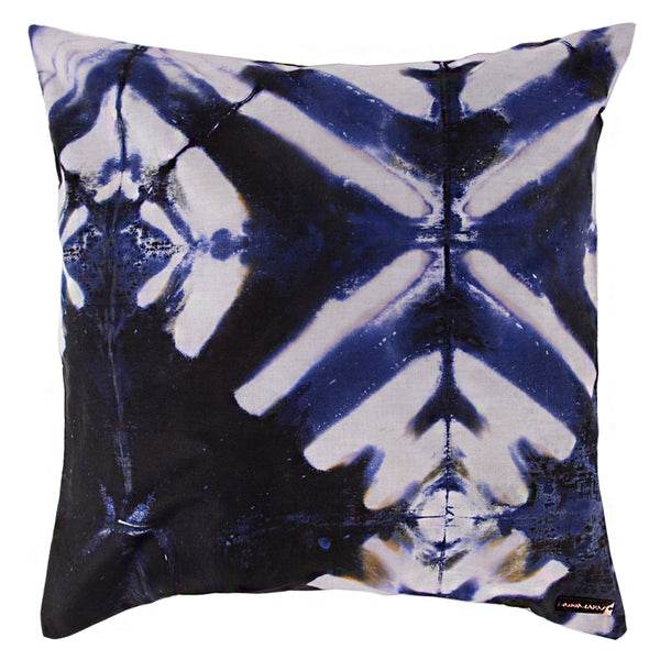 Shibori Cushion Cover - Milky Way