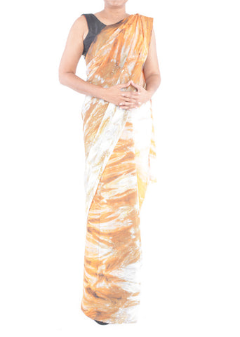 Shibori Abstract Saree 1