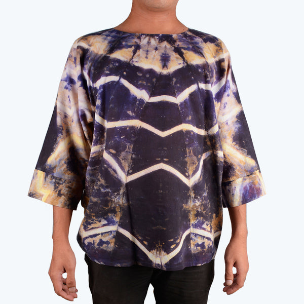 Batik Shibori for Men - Design 2