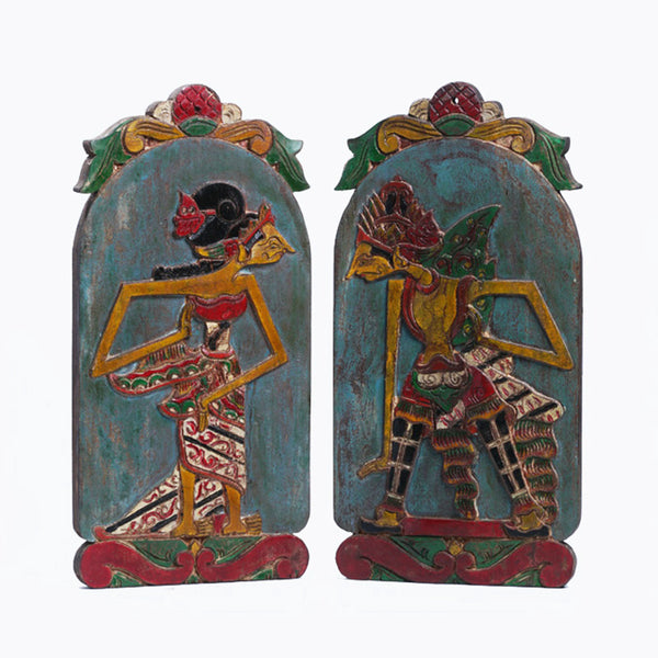 Rama & Sinta Wall Piece