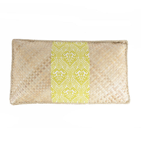 Hand Woven Rectangle Pillow - Design 1