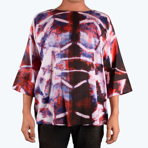 Batik Shibori for Men - Design 1