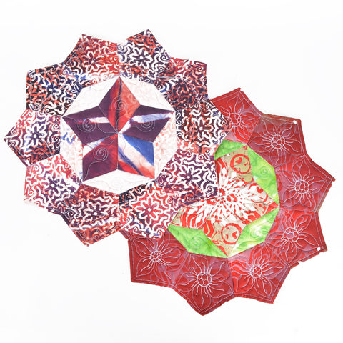 Christmas Hexagon Placemat 2