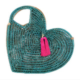 Pandan Heart Bag - Green