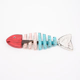 Fishbone Wall Key Holder - Design 2