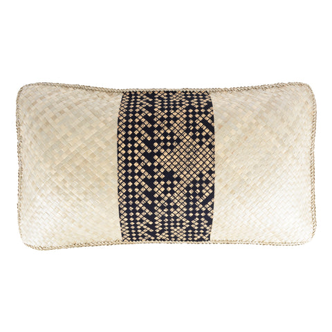Hand Woven Rectangle Pillow - Design 2