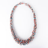Sarawak Beads Short Necklace - Multi Colour