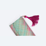 Candy Crush Pandanus Kelarai Clutch with Tassel - Design 1