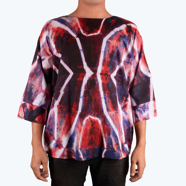 Batik Shibori for Men - Design 3