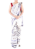 Shibori Abstract Saree 3