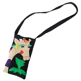 Kids Giraffe Sling Bag - Black