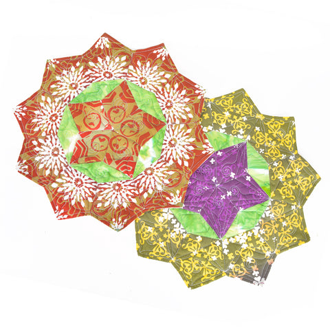 Christmas Hexagon Placemats 4
