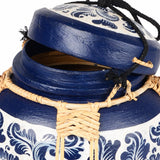 Bamboo Decorative Basket Box Semi-medium