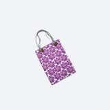 Stitch printed rectangular Bag
