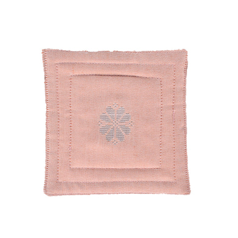 Songket Coaster set - Soft Pink