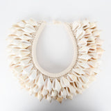 Timor Tribal Shell Necklace - Design E