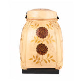 Bamboo Decorative Basket Box Large - Design 3
